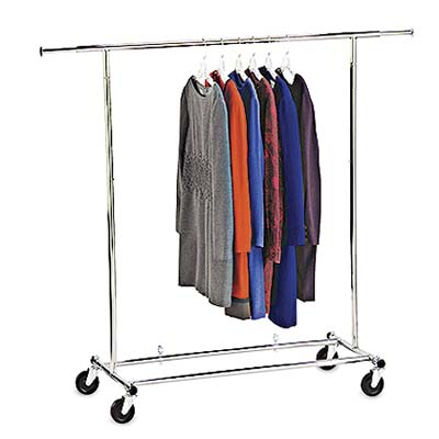 product photo of portable coat rack