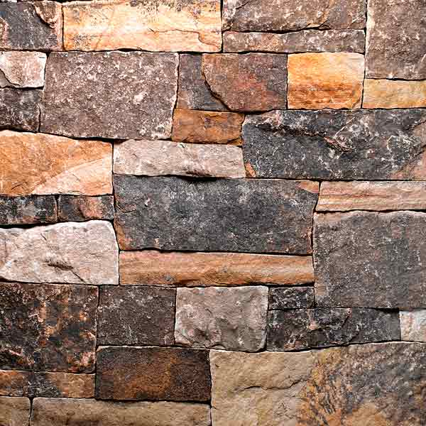 all about stone veneer charles luck cubist-style multi-colored fieldstone