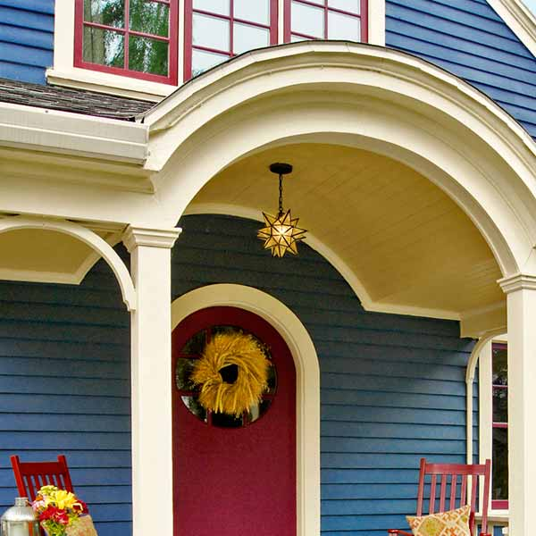 curb appeal boost on budget cottage painted trim and siding