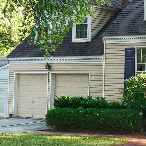 curb appeal boost on budget cape cod style home with clapboards and painted trim
