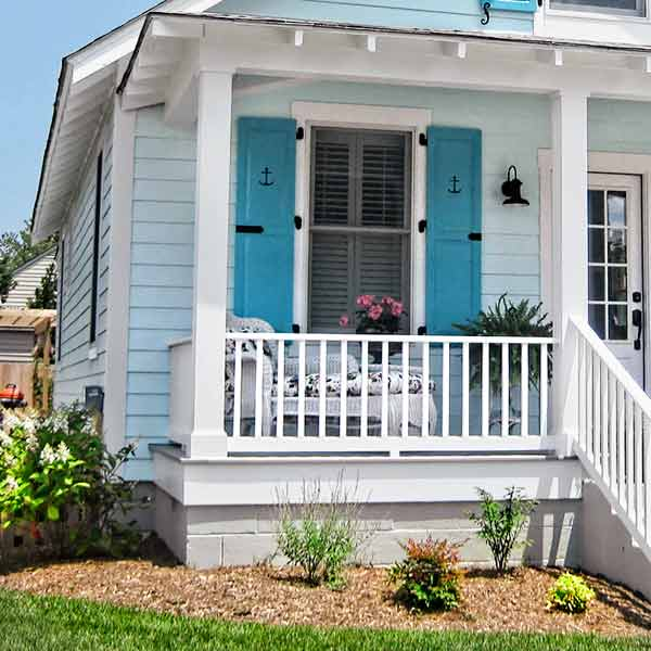 curb appeal boost on budget cottage paint