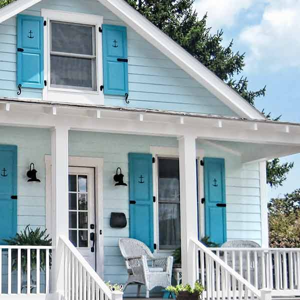curb appeal boost on budget cottage double hung windows with wood interior and vinyl exterior