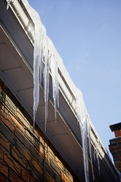 roof questions answered water freezing in gutters
