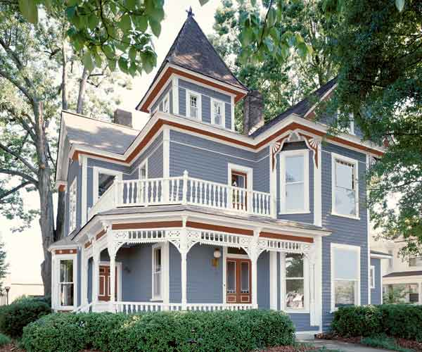 victorian house color schemes choosing authentic exterior paint colors. Black Bedroom Furniture Sets. Home Design Ideas
