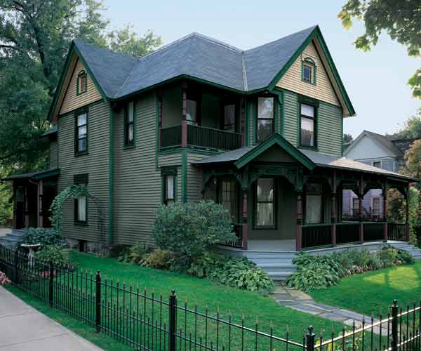 Period Purist Paint Color Ideas For Ornate Victorian