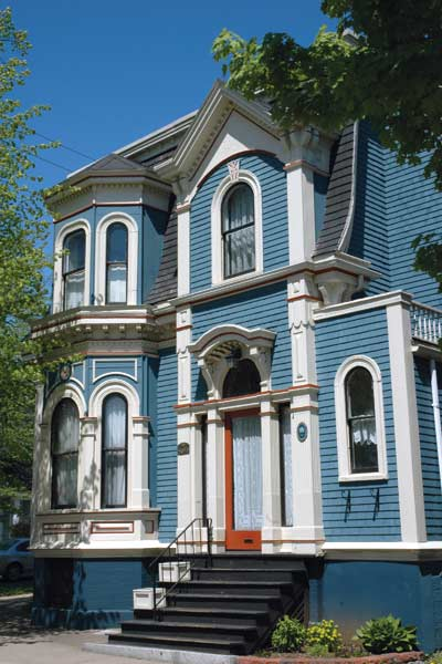 Sky Blue for Paint-Color Ideas for Ornate Victorian-Era Houses