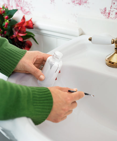 fix chip in bath sink, fast fixes