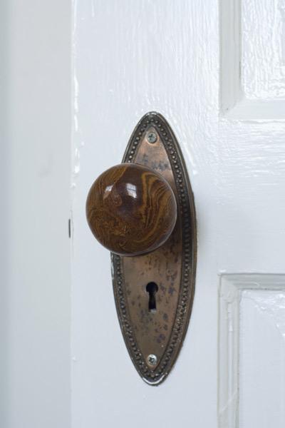 antique doorknob for skeleton key, fast fixes