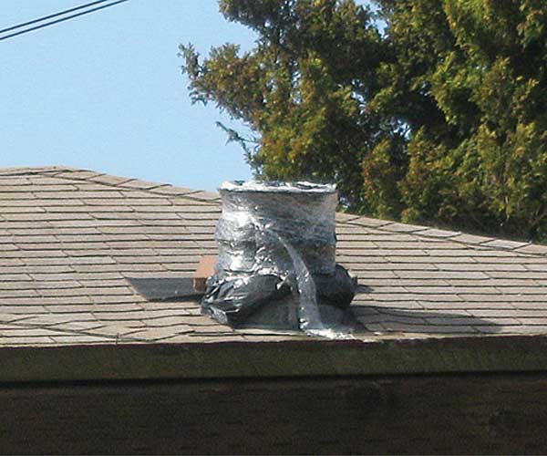 Even Better than Duct Tape from This Old House's Home Inspection Nightmares Number twenty-nine