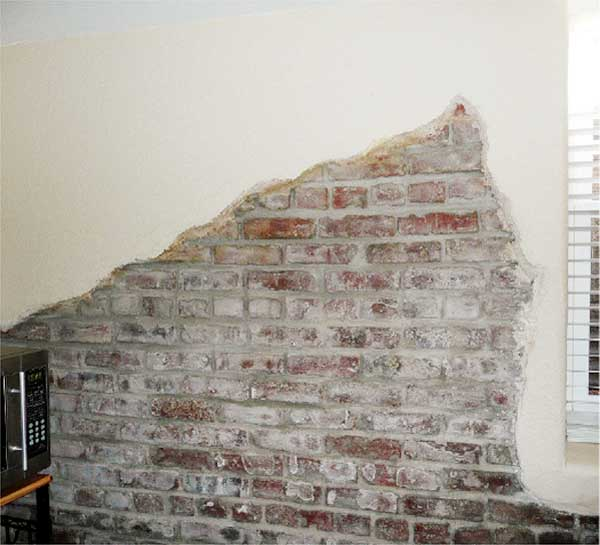 Exposed Brick Is a Selling Point, Right? from This Old House's Home Inspection Nightmares Number twenty-nine