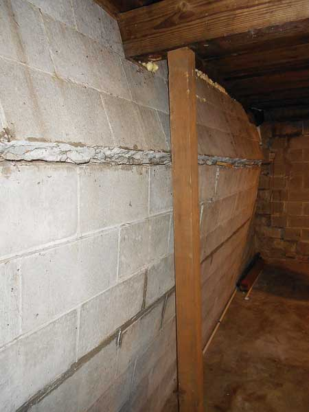 Battle of the Bulge from This Old House's Home Inspection Nightmares Number twenty-nine