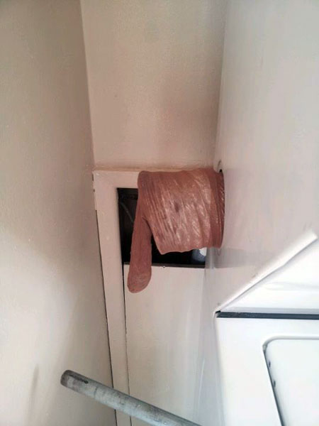 Adventures in Hosiery, Episode #37 from This Old House's Home Inspection Nightmares Number twenty-nine