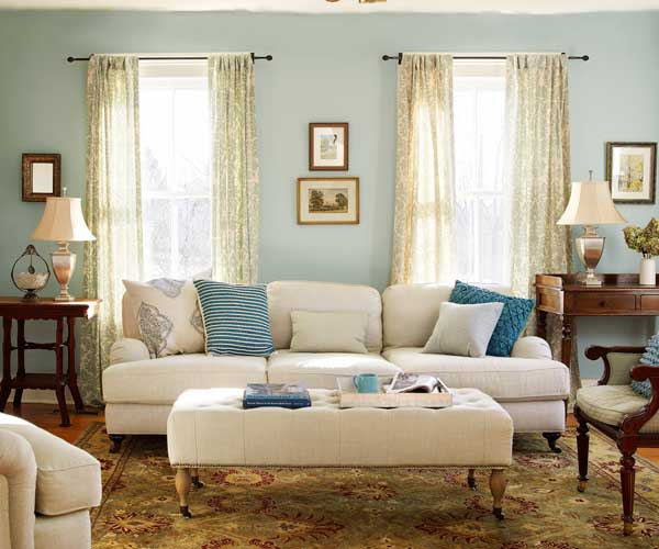Refreshed front parlor the added on to streamlined upgraded modern farmhouse this old house for Modern farmhouse living room furniture