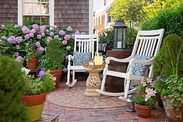 whole house remodel cape cod old restaurant patio outdoor rooms, rocking chairs
