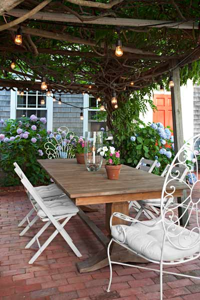 whole house remodel cape cod old restaurant patio outdoor rooms, pergola with wisteria