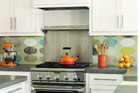 easy upgrade custom look wallpaper kitchen backsplash
