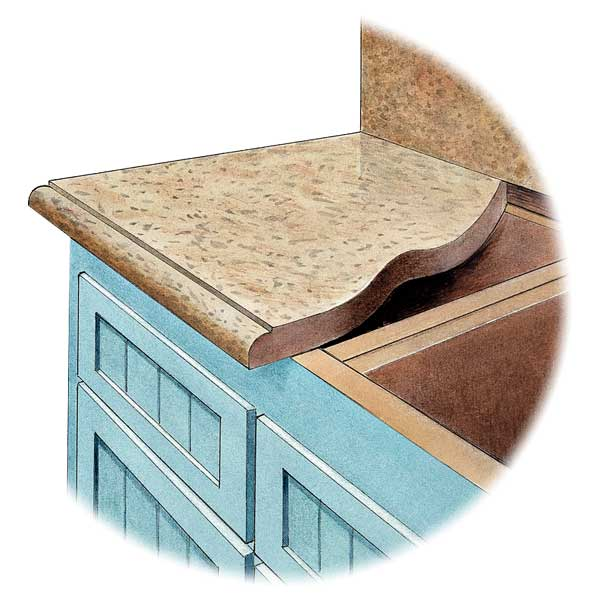 all about stone countertops illustration of stone countertop parts