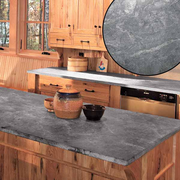Stone Countertop Gorgeous With Rustic Kitchen Countertops Image