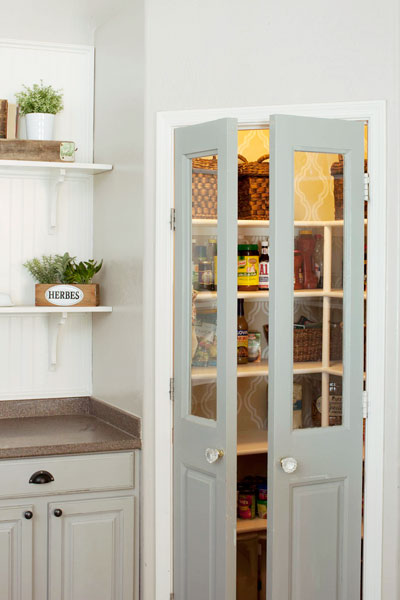 Vintage Door Pantry A Bright and Airy Kitchen for $343