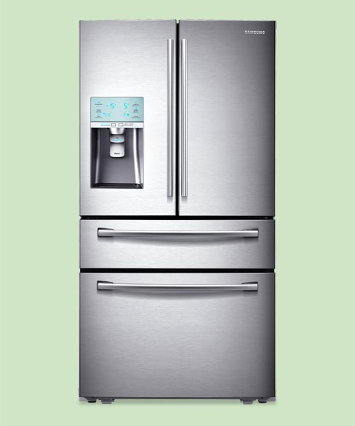Kitchen: Still or sparkling front door refrigerator from the TOH Top 100 Best New Home Products 2013