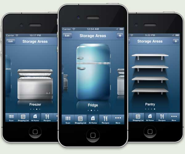 Kitchen App: Fridge Pal inventory tool from the TOH Top 100 Best New Home Products 2013