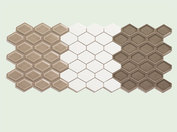 Bath: Stretched hex wall tile from the TOH Top 100 Best New Home Products 2013