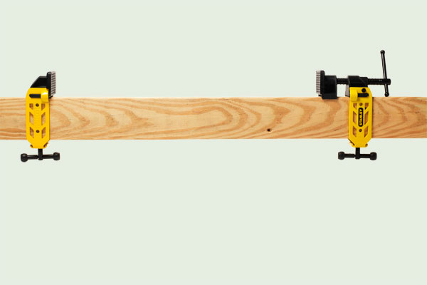 Tools: Infinitely adjustable bar clamp from the TOH Top 100 Best New Home Products 2013