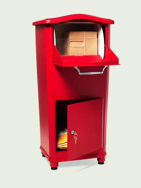 Outdoor Living: Package pal Architectural Mailbox from the TOH Top 100 Best New Home Products 2013