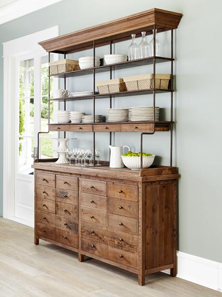 Finishing Touches: Salvaged beauty Reclaimed Pine Bookcase from the TOH Top 100 Best New Home Products 2013