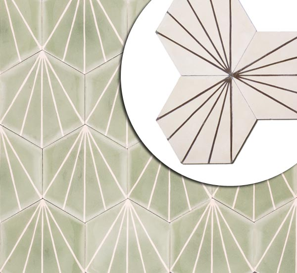 Finishing Touches: Tile with a twist from the TOH Top 100 Best New Home Products 2013