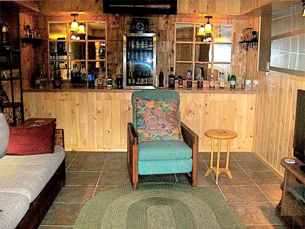 reader remodel contest home bars after remodel country inspired bar with sleeping are for guests