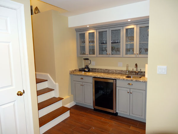 reader remodel contest home bars after remodel basement with wine cellar with granite wet bar