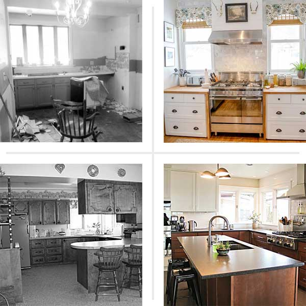 Before And After Kitchen Remodel Interior best small kitchen remodels