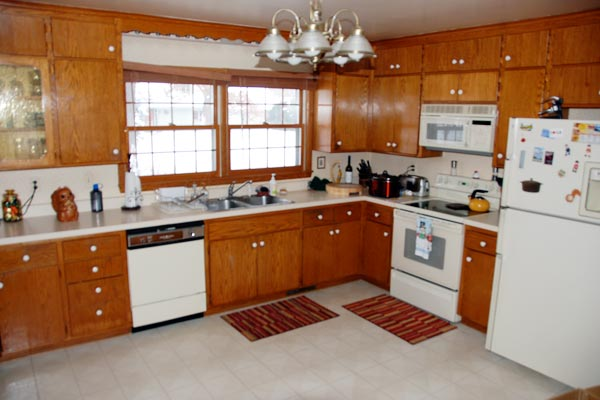 Destination Spot for Growing Family: After from this old house's Best Kitchen Before and Afters 2013