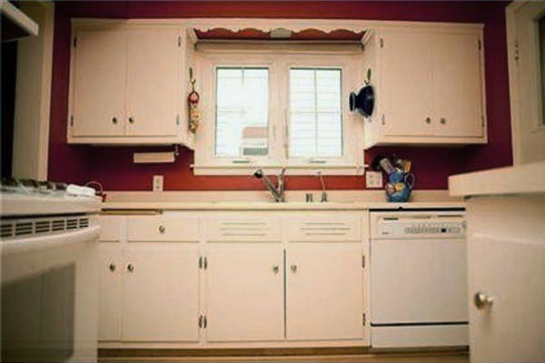 Getting Creative on How to Optimize Space: Before from this old house's Best Kitchen Before and Afters 2013