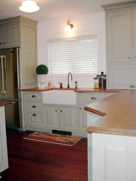 1930 Cottage Kitchen: Before from this old house's Best Kitchen Before and Afters 2013
