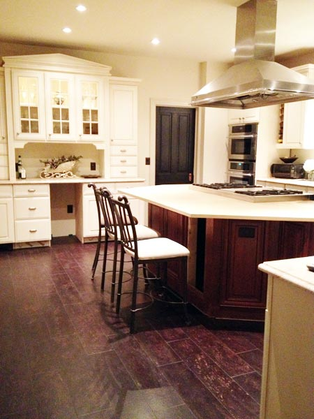 Found a Salvaged Kitchen: After from this old house's Best Kitchen Before and Afters 2013