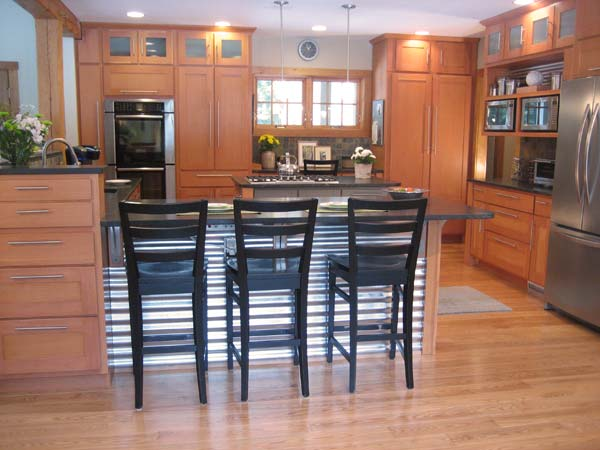 Contemporary New England Kitchen: After from this old house's Best Kitchen Before and Afters 2013