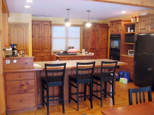 Contemporary New England Kitchen: Before from this old house's Best Kitchen Before and Afters 2013
