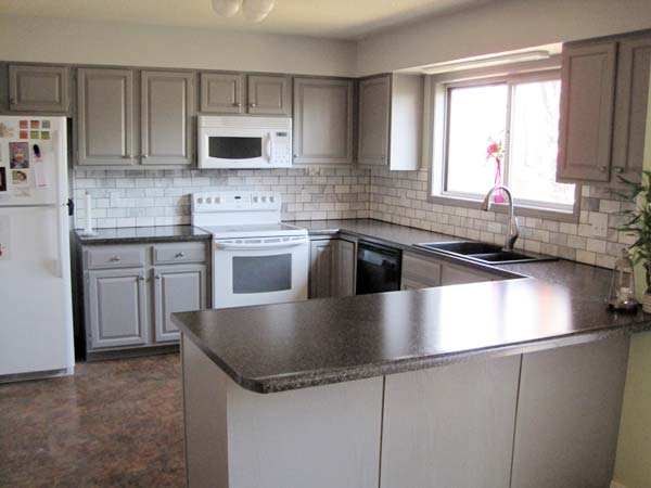 Color Change: After   from this old house's Best Kitchen Before and Afters 2013