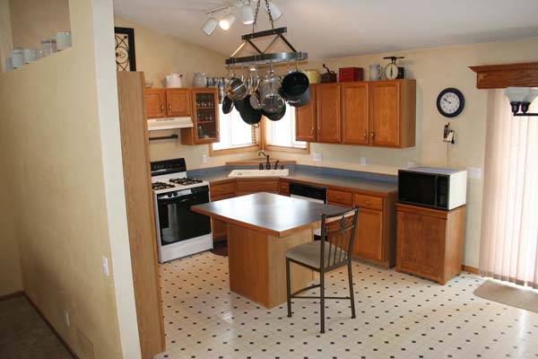Opening Up Kitchen Before Graduation: Before  from this old house's Best Kitchen Before and Afters 2013