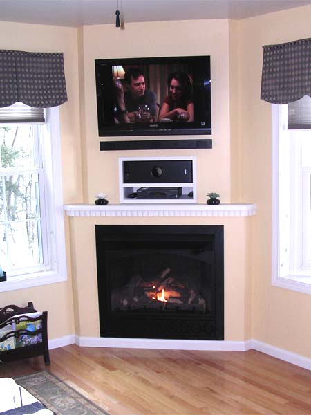Ventless Fireplace After Best Fireplace Before And