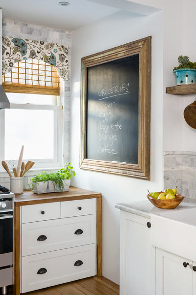 2013 reader remodel contest kitchen winner after remodel with authentic slate blackboard