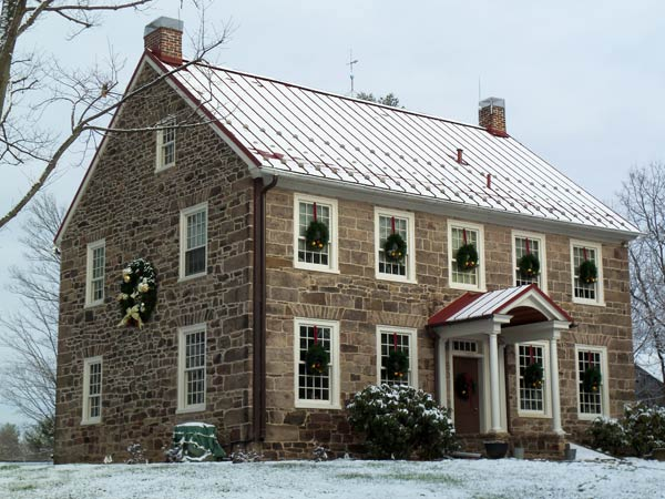 Grand Stone Farmhouse After Best Whole House Before & Afters 2013