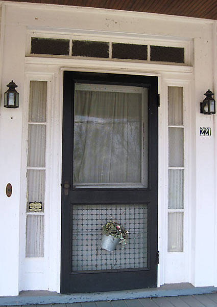 save this old house social circle georgia greek revival cottage exterior front door with original porch columns, transom and sigelights