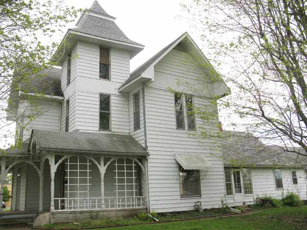 save this old house hope indiana white queen anne exterior with two additions in back