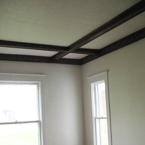 save this old house hope indiana queen anne staircase landing with stained coffered ceiling