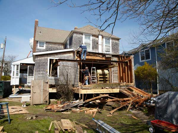 Bay Head: Bumping Out in Back from the This Old House Jersey Shore Recovers Project