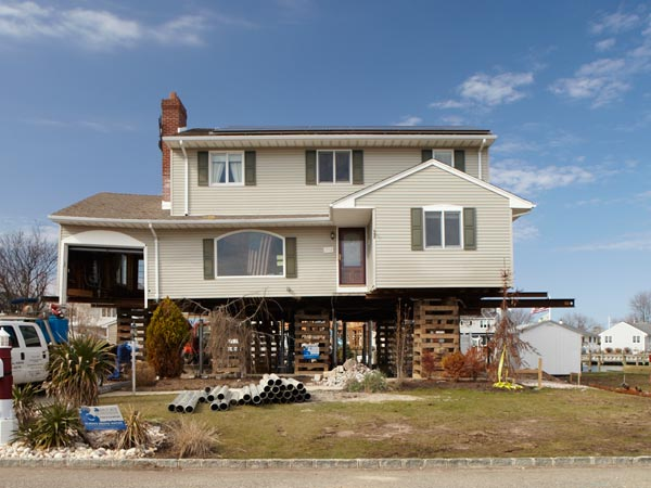 Point Pleasant: Raising the Structure from the This Old House Jersey Shore Recovers Project