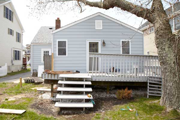 Manasquan: Washed-Out Deck from the This Old House Jersey Shore Recovers Project